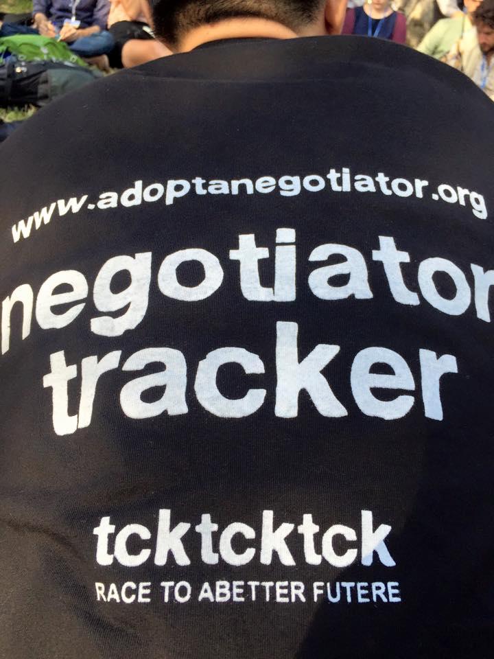 Negotiator Tracker T-shirt